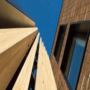 Bamboo N-finity Fassaden Profilholz