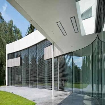 Fassadenverkleidung Bambus Rhombus N-finity