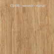 Optik wovenplatte natur 4 mm