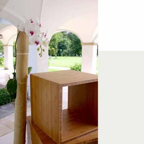 Bambus Furnier Platten design würfel 25 mm stark