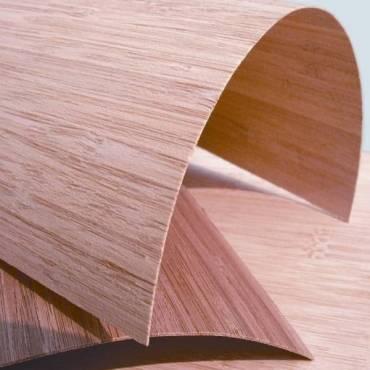 Qualitätsansicht von Messerfurnier- 3100 x 430 / 1250 x 0,6 mmin vertikal coffee und natur