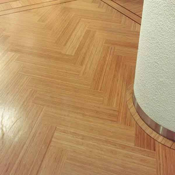 2 schicht bambusparkett bestens geeignet f r fu bodenheizung. Black Bedroom Furniture Sets. Home Design Ideas