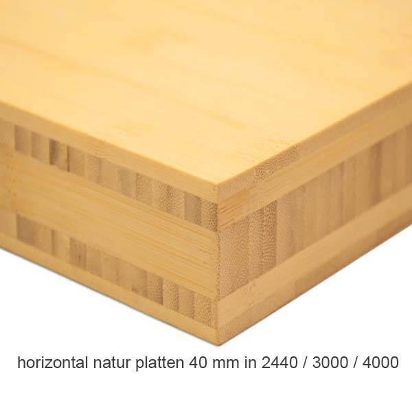 k chenarbeitsplatten aus bambus 3 meter lang mit 5. Black Bedroom Furniture Sets. Home Design Ideas