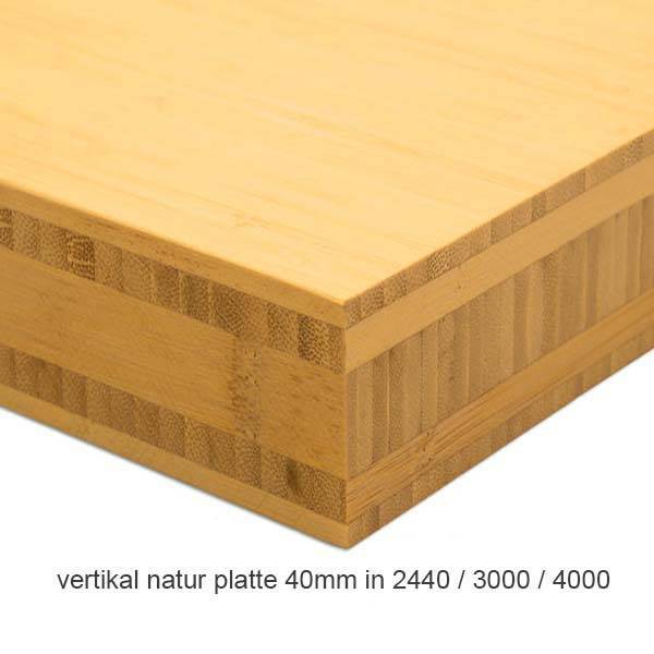K chenarbeitsplatten aus bambus 3 meter lang mit 5 for Arbeitsplatte 3 meter