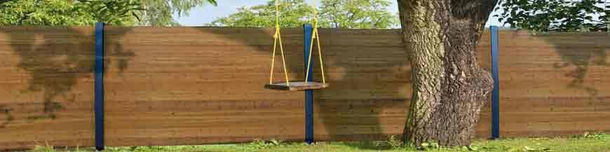 Bambuszäune und Sichtschutz
