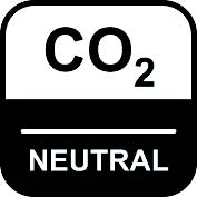 piktogramm für co 2 standart neutral